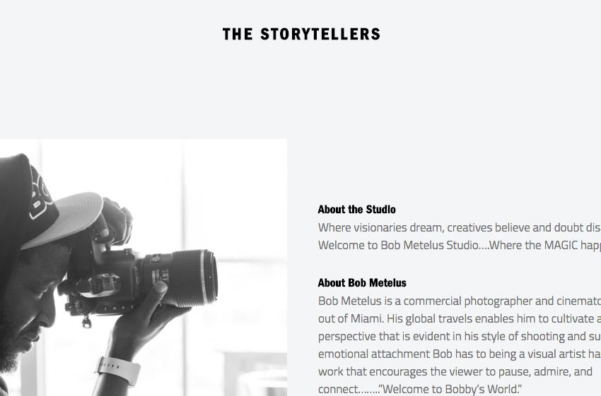 Bob Metelus: Content HTML & CSS