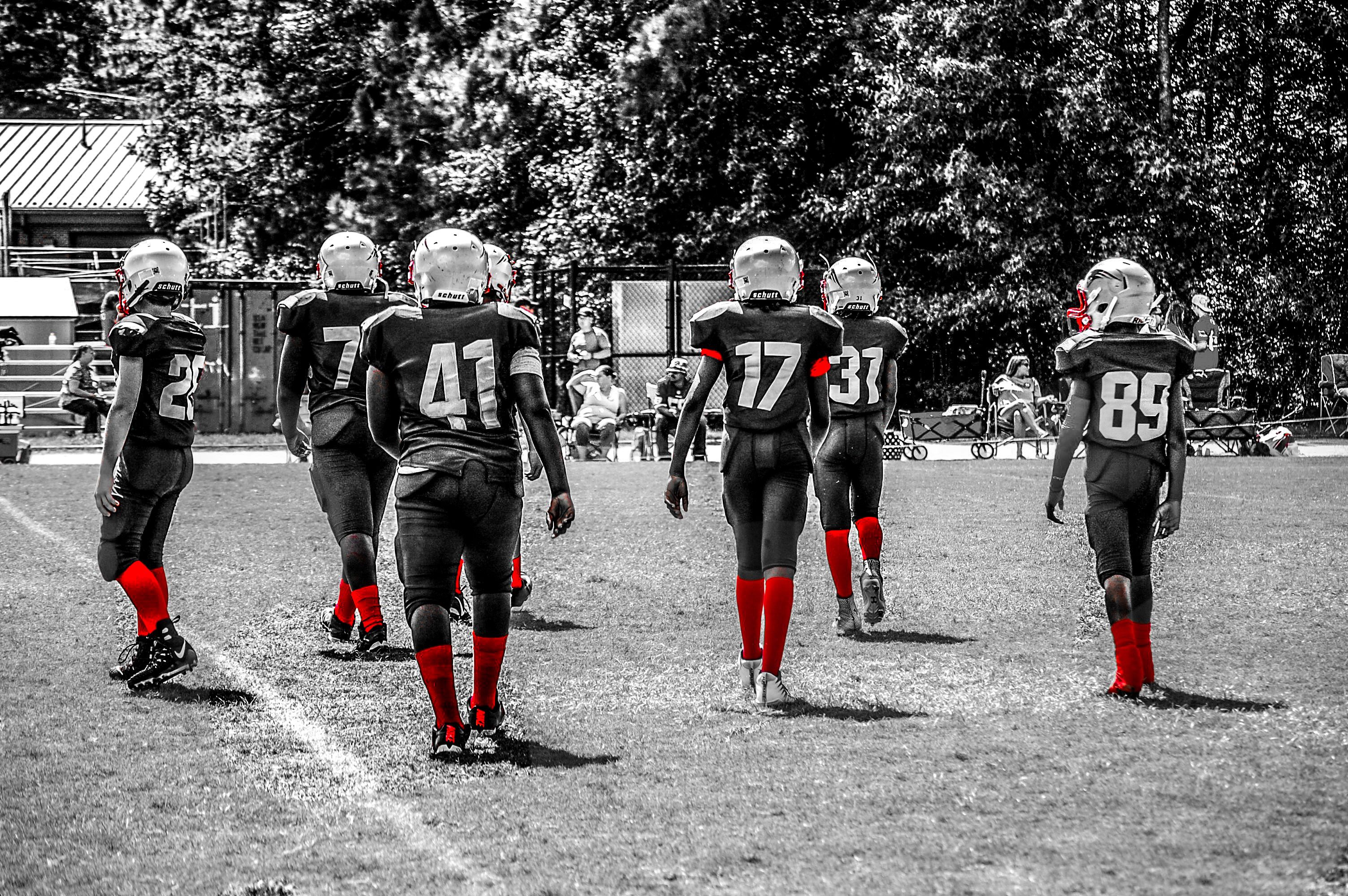 Photoshop Photo Edit - Youth Football